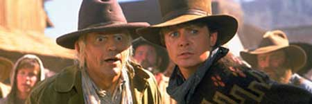 Christopher Lloyd en Michael J. Fox in Back to the Future