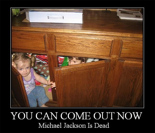 Michael Jackson: You Can Come Out Now