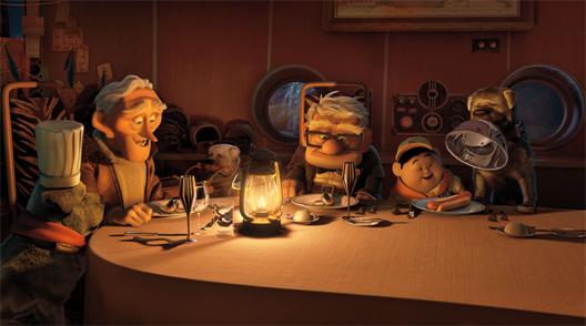 Up, de nieuwe film van Pixar en Disney