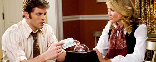 Arthur en Norma Lewis staan voor een verscheurende keuze: drukken of niet?