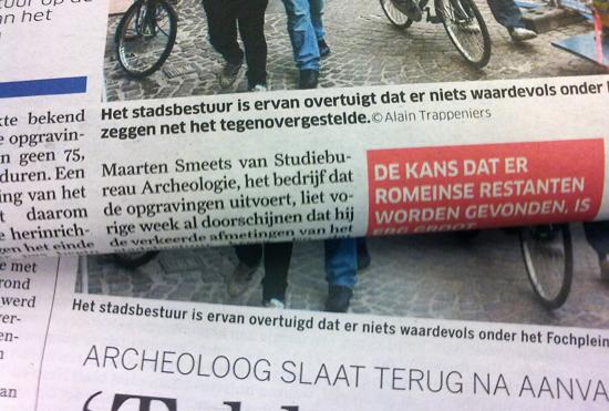 De Standaard verus Het Nieuwsblad