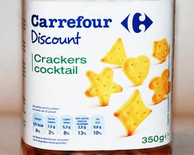 Carrefour tart de wet van de zwaartekracht