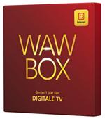 WAW BOX voor een jaar digitale televisie van Telenet