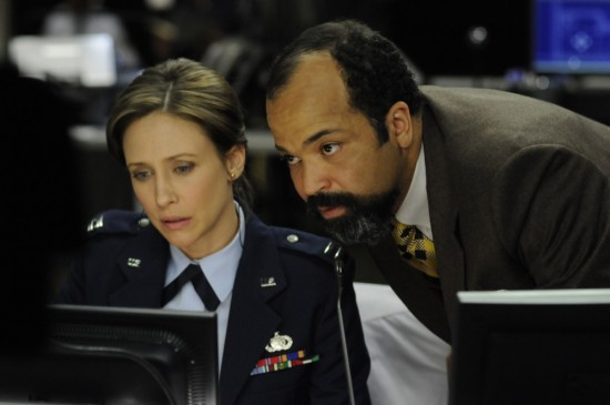 Vera Farmiga en Jeffrey Wright in Source Code